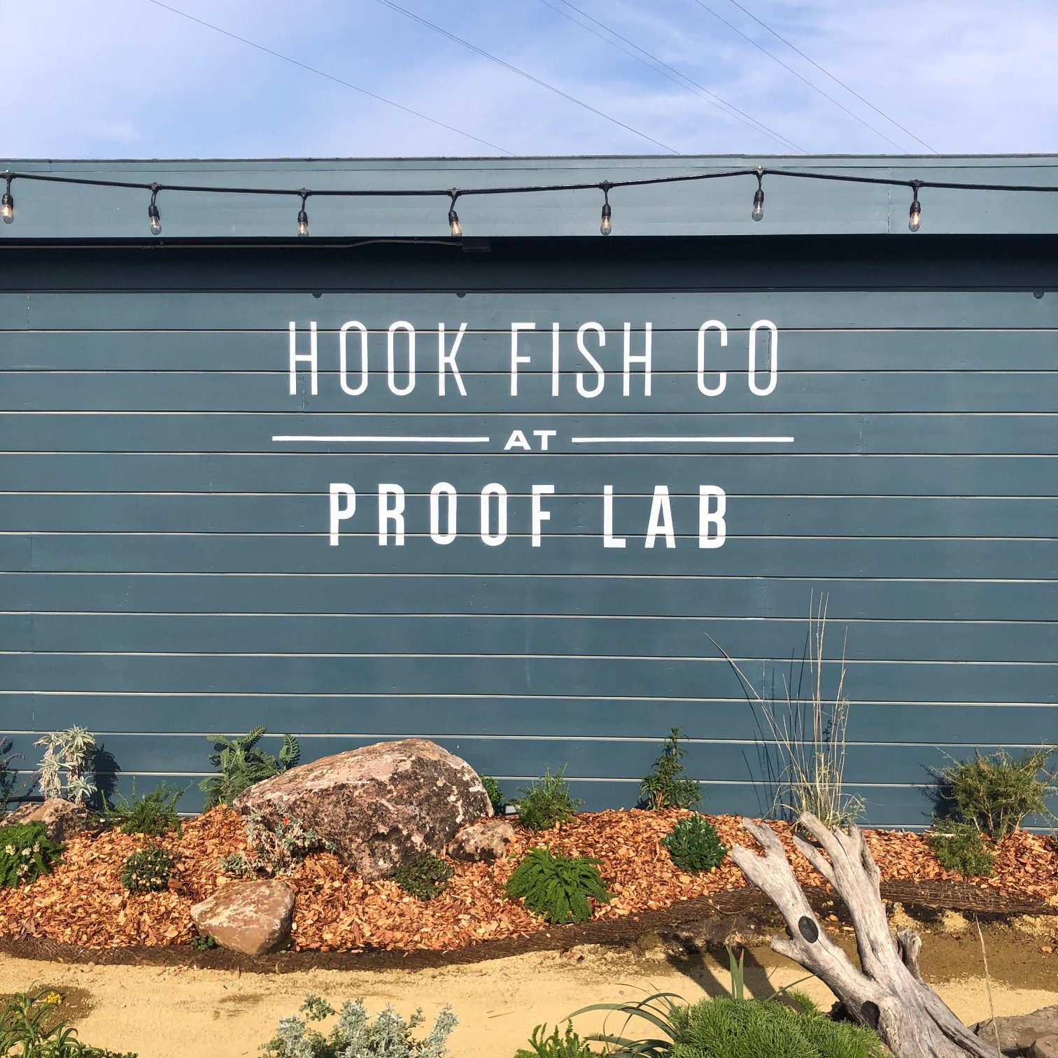 Hook Fish Co. at Proof Lab, Mill Valley