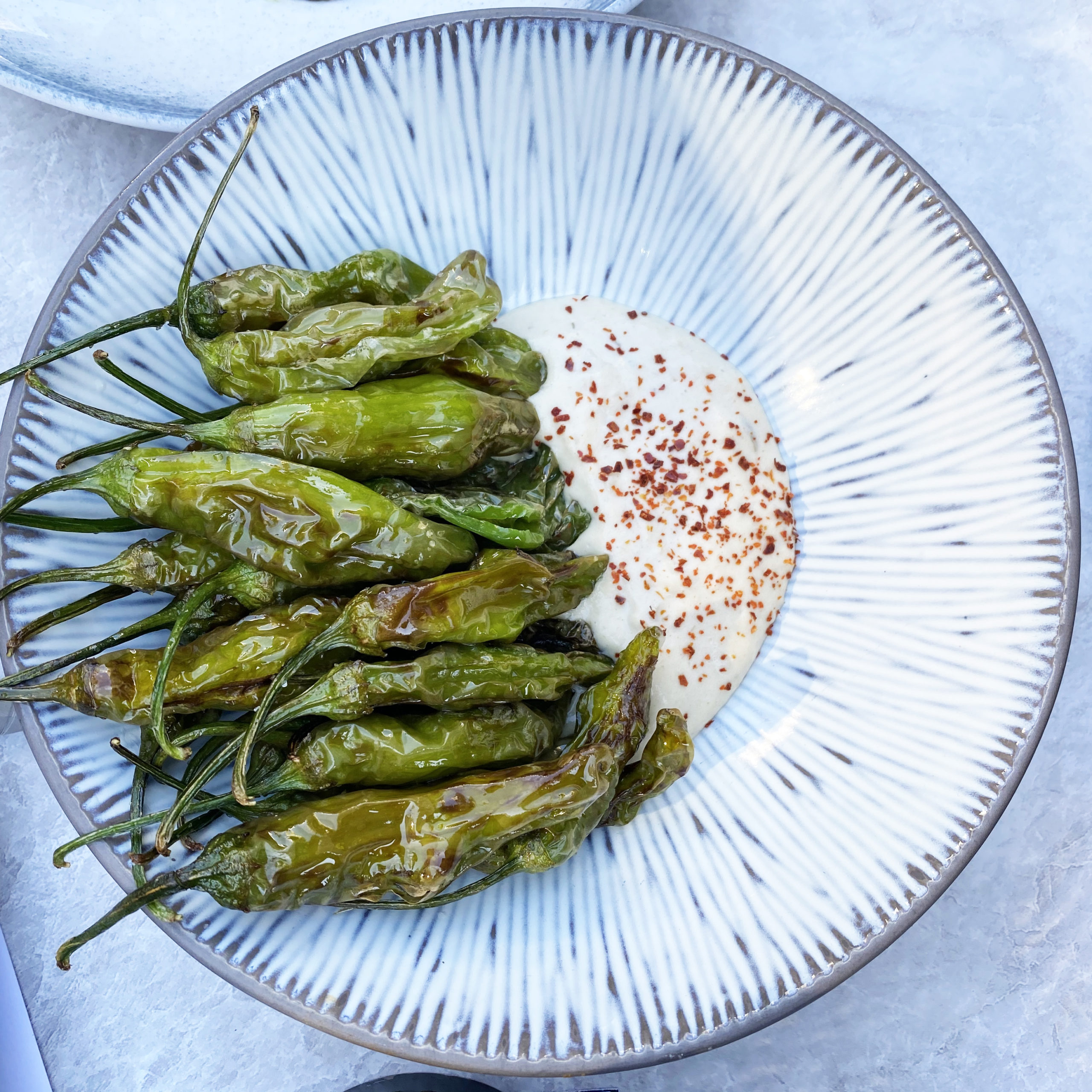 FRIED SHISHITO PEPPERS - Forkitecture Feature - The Vault Garden