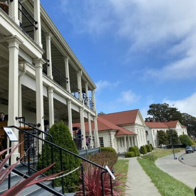 MURRAY CIRCLE RESTAURANT AT CAVALLO POINT, SAUSALITO, CA